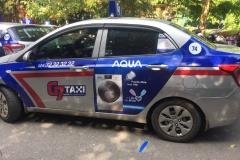 Quảng Cáo AQUA Trên Taxi G7